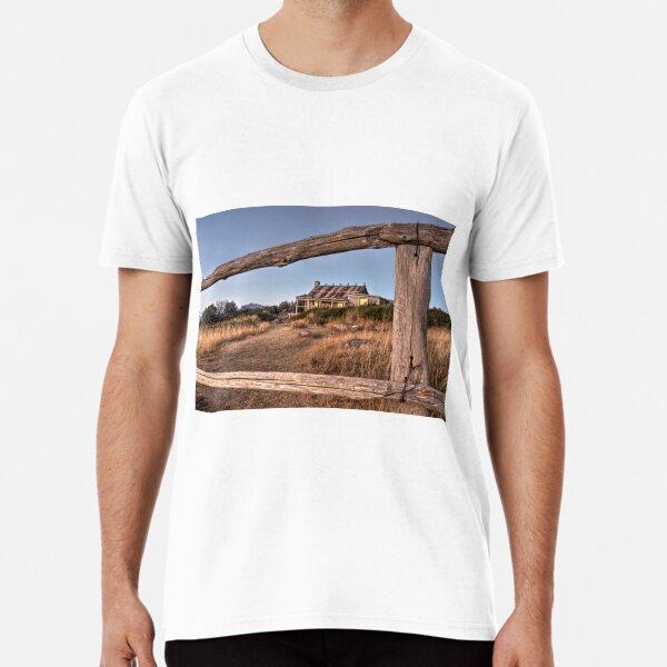 Sunset at Craig's Hut Premium T-Shirt