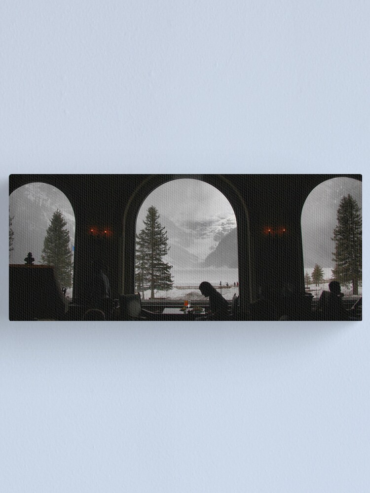 Alternate view of Lake Louise dining Canvas Print