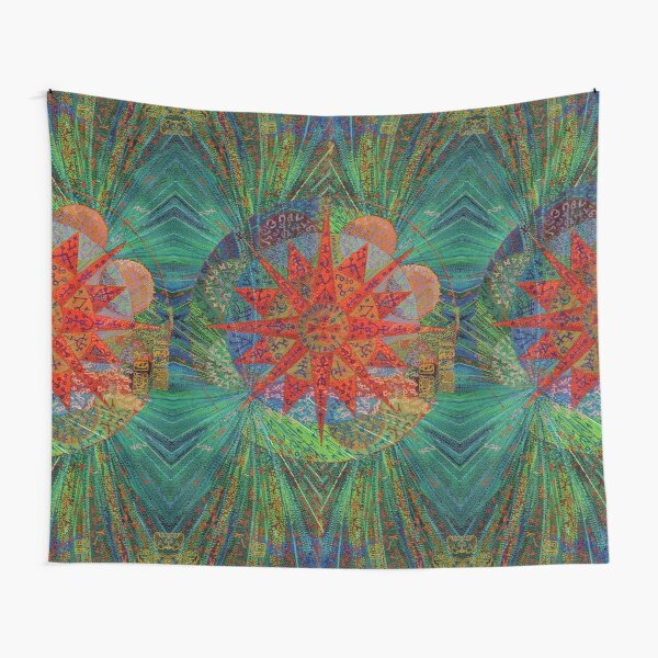 Grass Tree (repeat pattern) Tapestry