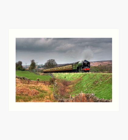 12:10 From Grosmont,North Yorkshire Art Print