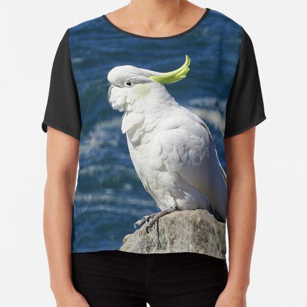 Sulphur-crested Cockatoo Chiffon Top