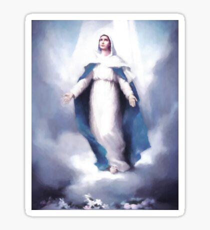 The Glorious Assumption of Mary into Heaven Sticker