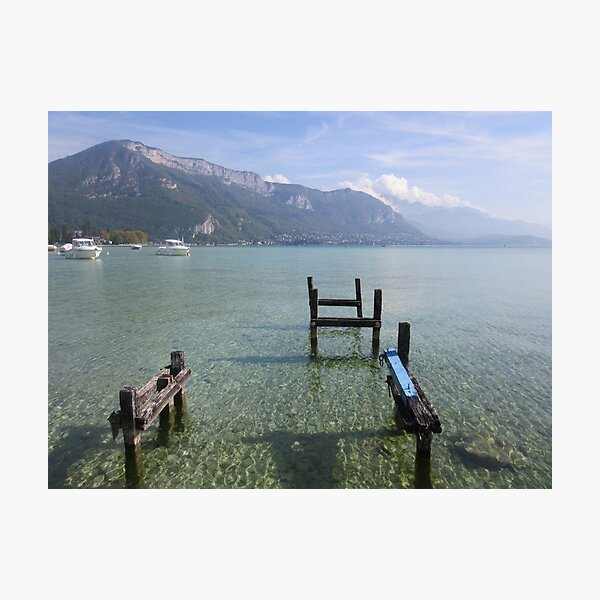 Annecy getaway Photographic Print