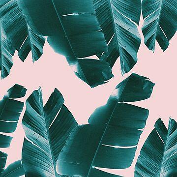 Banana Leaves Tropical Vibes #1 #foliage #decor #art by anitabellajantz