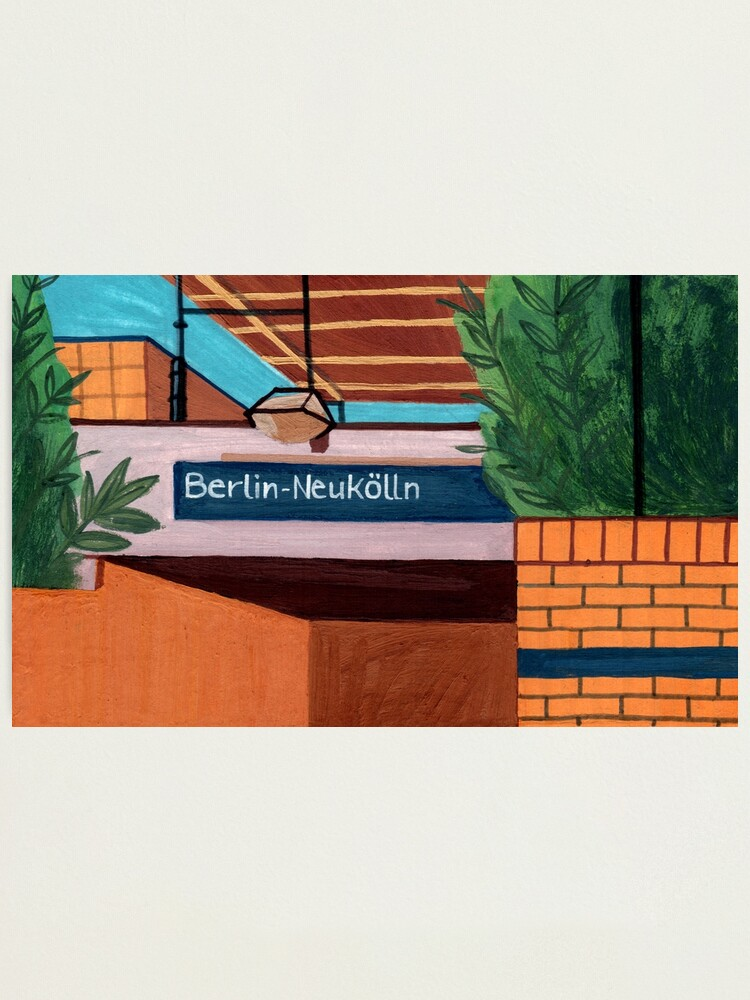 Alternate view of Berlin-Neukölln Photographic Print