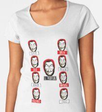 El Profesor - Papel Women's Premium T-Shirt