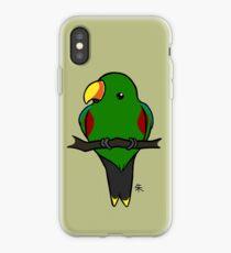Eclectus Parrot (male) iPhone Case