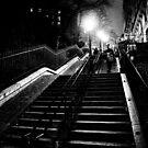 Montmartre staircase by Alexander Meysztowicz-Howen