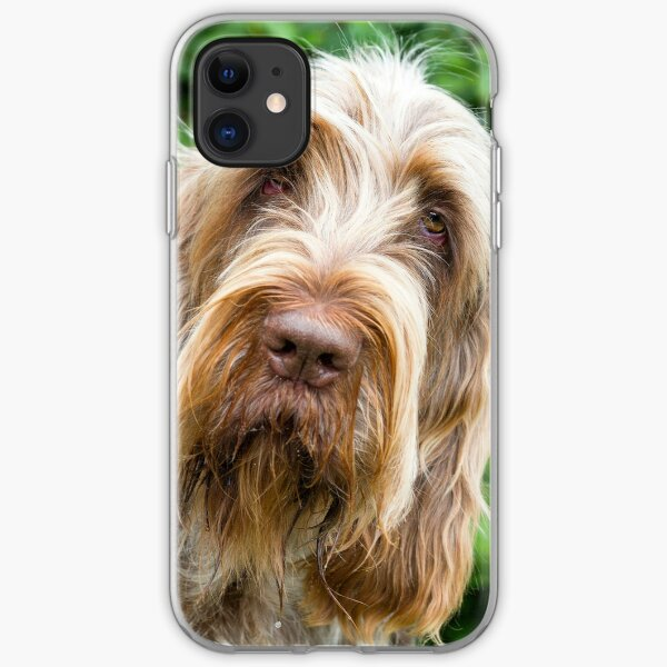 Shades of brown Spinone iPhone Soft Case