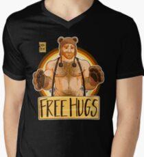 ADAM LIEBT UMARMUNGEN - BEAR PRIDE - GINGER EDITION T-Shirt mit V-Ausschnitt