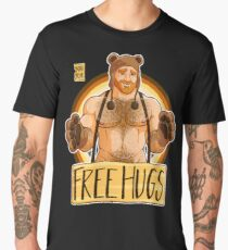 ADAM LIKES HUGS - BEAR PRIDE - GINGER EDITION Men's Premium T-Shirt