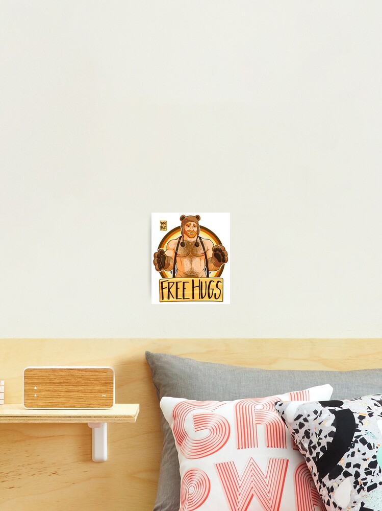 Little Bears Hugs Wall Clock