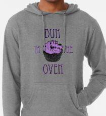 Bun In The Oven - Lilac - Pregnancy Tee Lightweight Hoodie