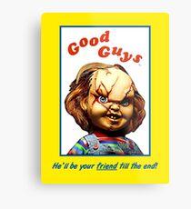 Chucky - Kinderspiel Metalldruck