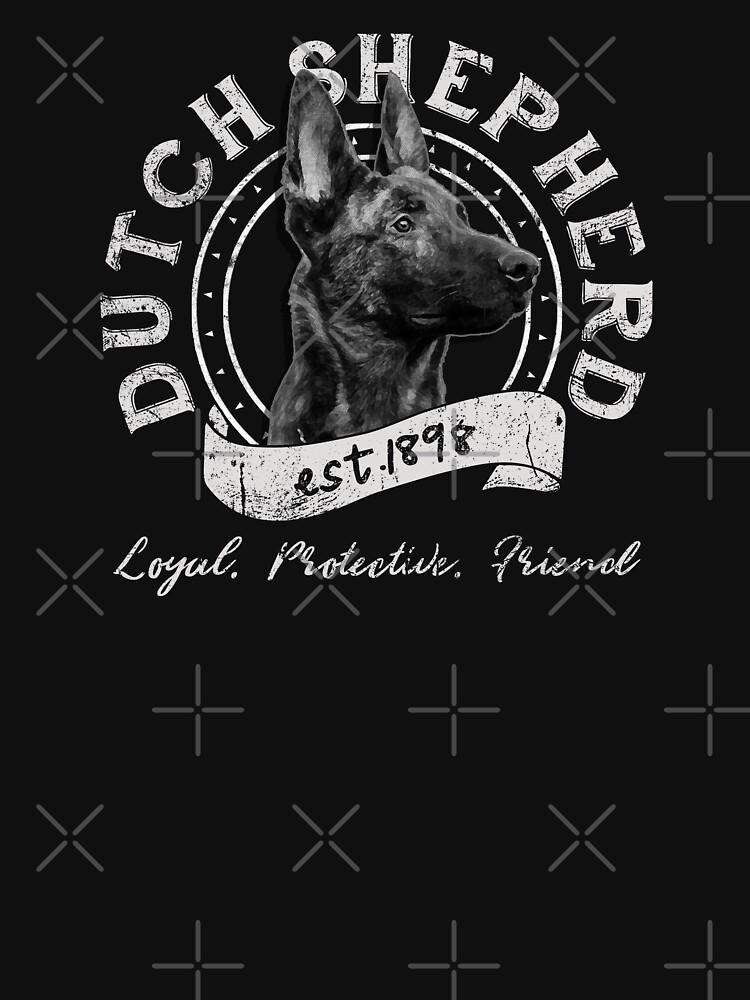 Dutch Shepherd Dog by EddieBalevo