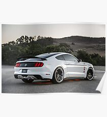 Ford Mustang Apollo Poster