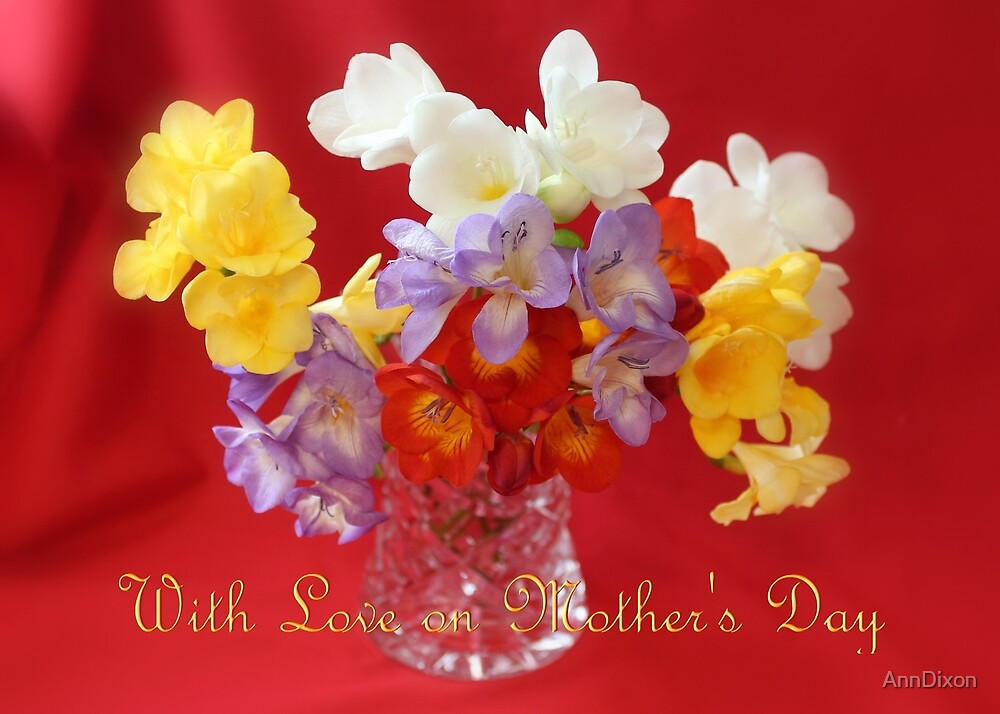 With Love on Mothers Day by AnnDixon