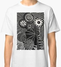Psychedelic Cookies Classic T-Shirt