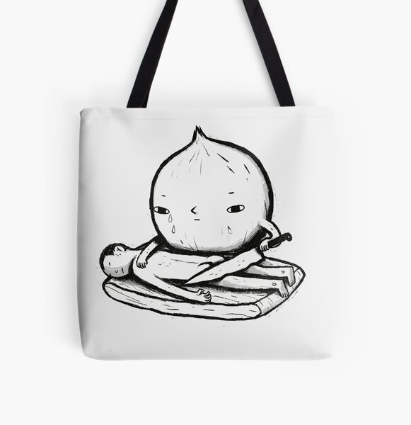 onion role reversal All Over Print Tote Bag