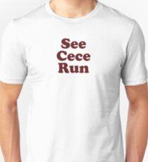 """Schmidts """"See Cece Run"""" Shirt Slim Fit T-Shirt"""