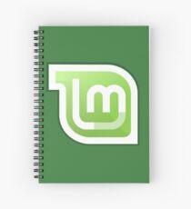 Linux Mint Spiral Notebook