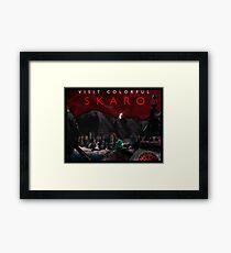 Visit Colorful Skaro Framed Print