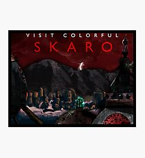 Visit Colorful Skaro Photographic Print