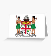 Coat of Arms of Fiji Greeting Card