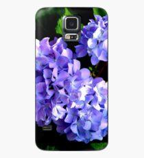 Funda/vinilo para Samsung Galaxy Hortensias de bígaro