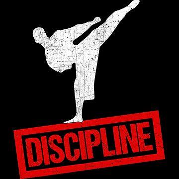Karate Discipline Martial Arts Ninja Black Belt  by Koffeecrisp