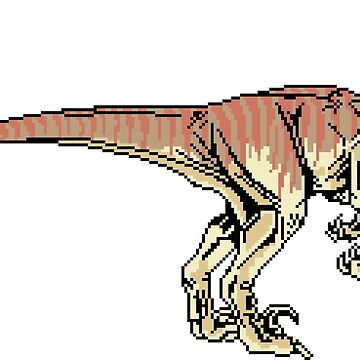 Pixel Raptor by acgraphism