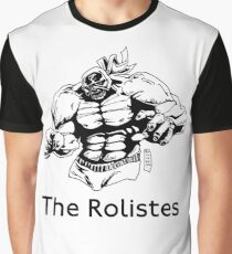 The Rolistes Podcast - Luchador (Mono) Graphic T-Shirt