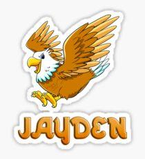 Jayden Eagle Sticker Sticker