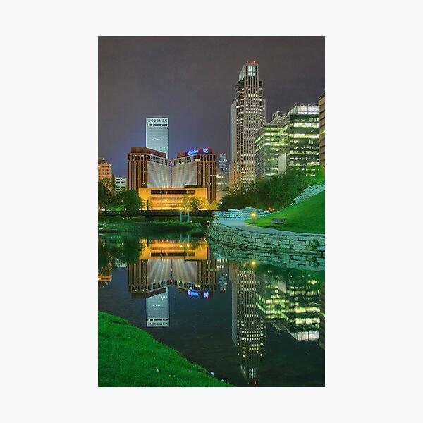 Spring Night-Omaha Photographic Print