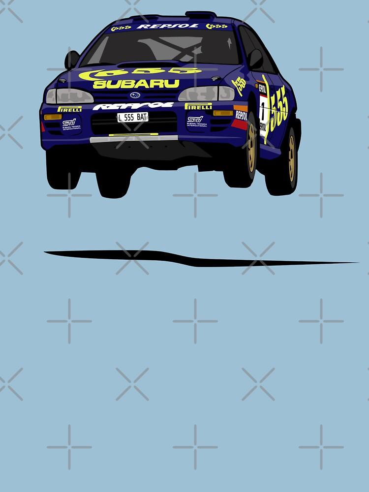 Colin McRae 555 Subaru Impreza by nutandbolt
