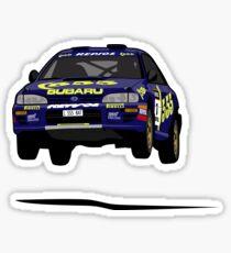 Colin McRae 555 Subaru Impreza Sticker