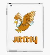 Jimmy Eagle Sticker iPad Case/Skin
