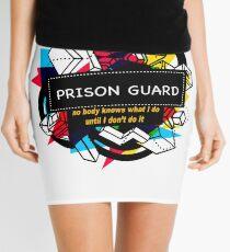 PRISON GUARD Mini Skirt