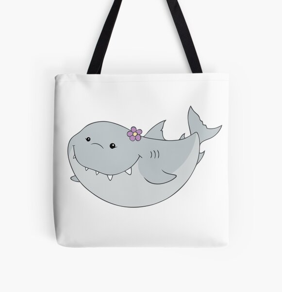 Friendly shark All Over Print Tote Bag