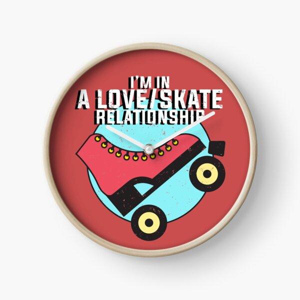 Roller Skate Design for Lovers of Roller Skating Clock