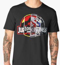 Camiseta premium para hombre jurásico