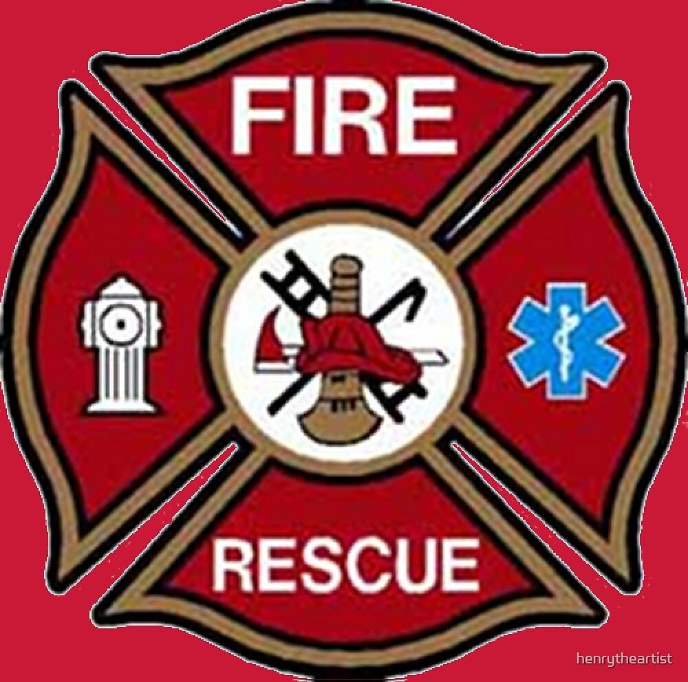 Fire Rescue Maltese Cross by henrytheartist