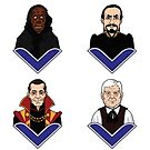 Doctor Who - All of The Masters by PaulGCornish