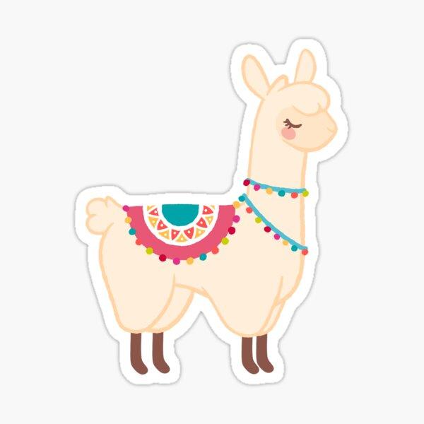 Llama Pegatina