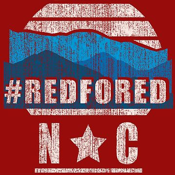 Red for Ed North Carolina NC Mountains by purple-xanax