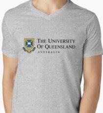 University of Queensland Men's V-Neck T-Shirt