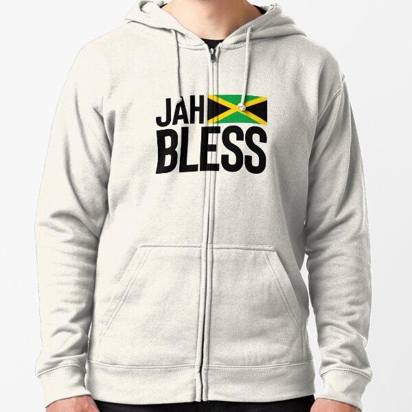Jamaica Flag Colors Font Jamaican Country Soccer JAM Two Tone Hoodie Sweatshirt
