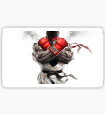 street fighter ryuk Sticker