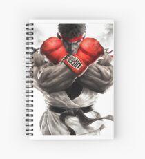 street fighter ryuk Spiral Notebook