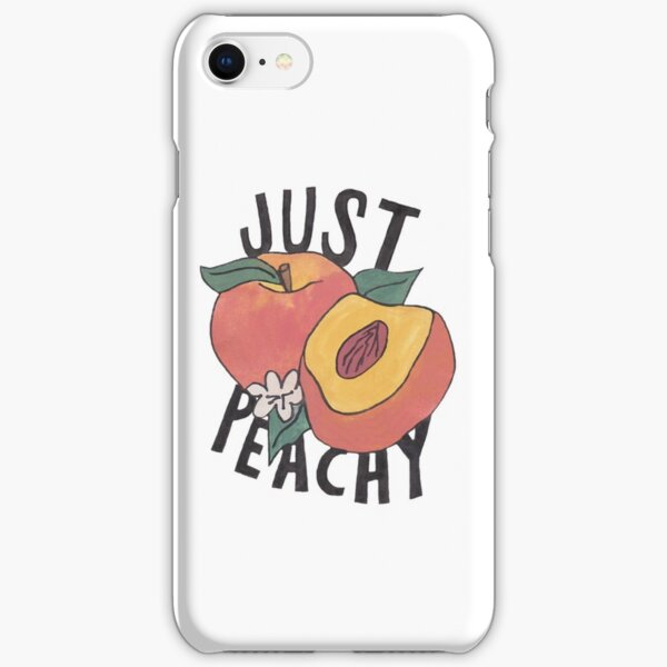 Just Peachy iPhone Snap Case